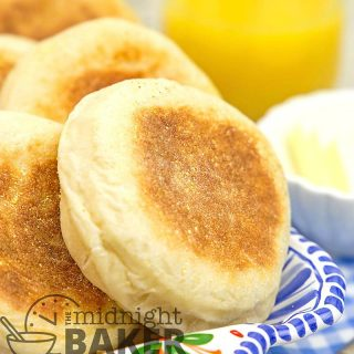 Homemade English muffins are easy
