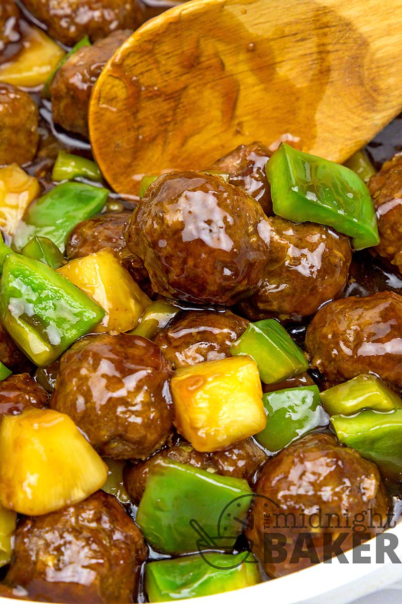 Have a family luau with these easy and tasty Hawaiian meatballs.