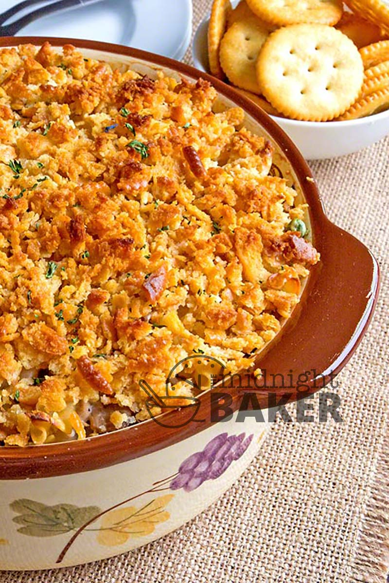 Tuna casserole is memories of childhood. You can't get more retro!