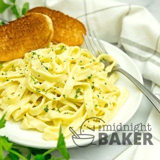 Fettuccine Alfredo is rich and creamy and so gourmet but it's easy to make.