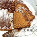 Milk chocolate pound cake